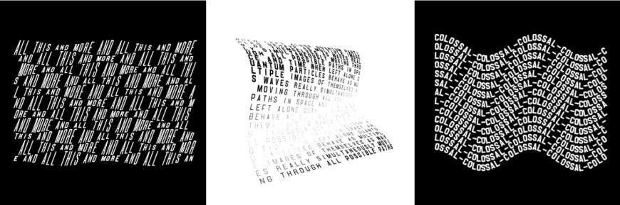 设计神器!5分钟就能上手的动态文字生成网站 – Space Type Generator
